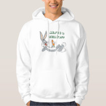 BUGS BUNNY™ Lying Down Eating Carrot Hoodie
