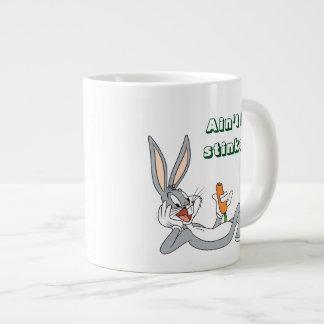 BUGS BUNNY™ Lying Down Eating Carrot Large Coffee Mug