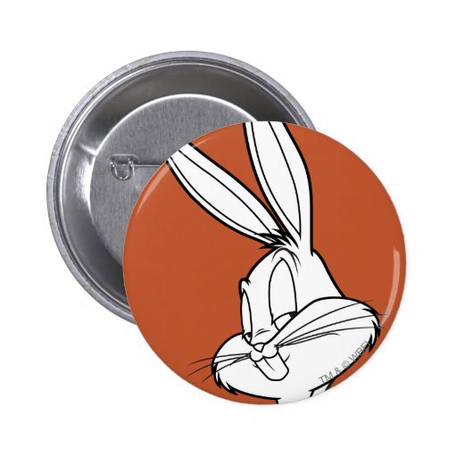 BUGS BUNNY™ Mischievous 2 Inch Round Button