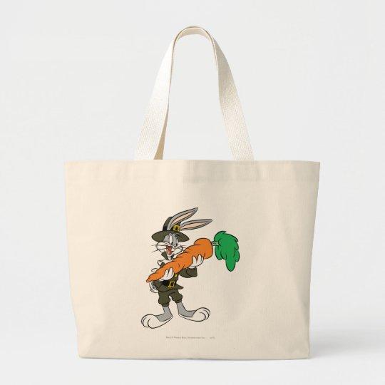 BUGS BUNNY™ Pilgrim Thanksgiving Carrot Large Tote Bag