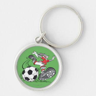 BUGS BUNNY™ Playing Soccer Keychain