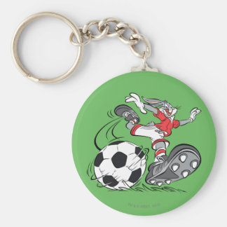 BUGS BUNNY™ Playing Soccer Keychain