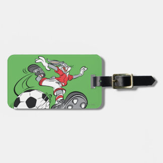 BUGS BUNNY™ Playing Soccer Luggage Tag