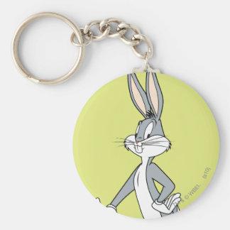 Bugs Bunny que coloca 3 Llaveros Personalizados