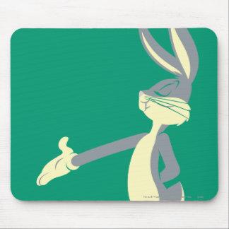 Bugs Bunny que coloca 5 Alfombrilla De Ratones