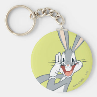 Bugs Bunny que susurra 2 Llavero Personalizado