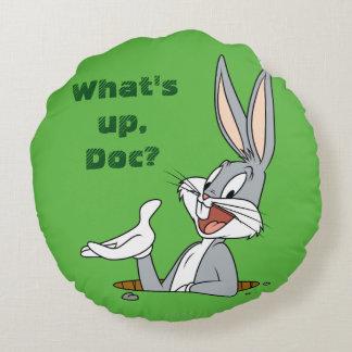 BUGS BUNNY™ Rabbit Hole Round Pillow