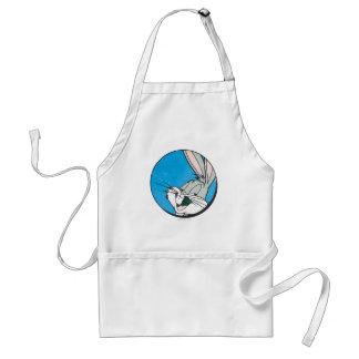 BUGS BUNNY™ Retro Blue Patch Adult Apron