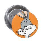BUGS BUNNY™ Sideways Glance Pinback Button