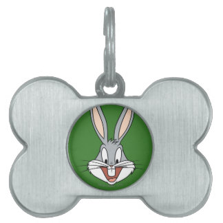 BUGS BUNNY™ Smiling Face Pet Tag
