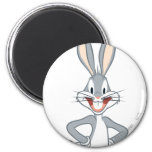 BUGS BUNNY™ Standing 2 Inch Round Magnet