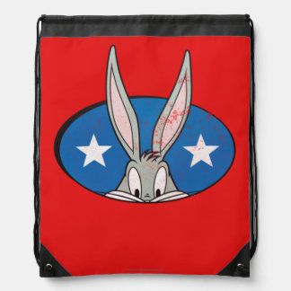 BUGS BUNNY™ Stars Badge Drawstring Backpack