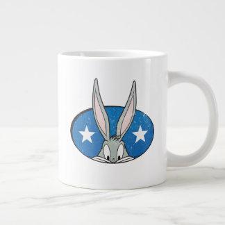 BUGS BUNNY™ Stars Badge Large Coffee Mug