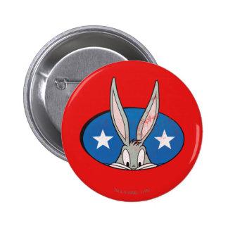 BUGS BUNNY™ Stars Badge Pinback Button