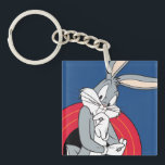 """BUGS BUNNY™ Through LOONEY TUNES™ Rings Keychain<br><div class=""""desc"""">LOONEY TUNES™ 
