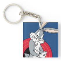 BUGS BUNNY™ Through LOONEY TUNES™ Rings Keychain