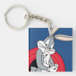 BUGS BUNNY™ Through LOONEY TUNES™ Rings Keychain