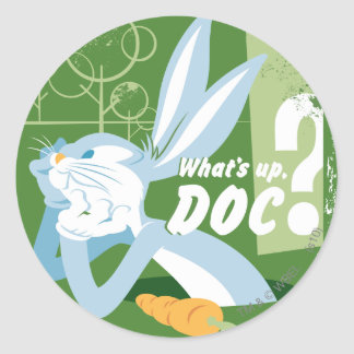 BUGS BUNNY™ What's Up, Doc? Classic Round Sticker