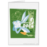 BUGS BUNNY™ What's Up, Doc? Greeting Card