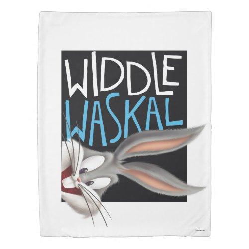BUGS BUNNY™- Widdle Waskal Duvet Cover