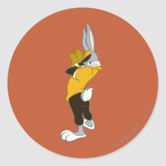 BUGS BUNNY™ Wind Up Classic Round Sticker