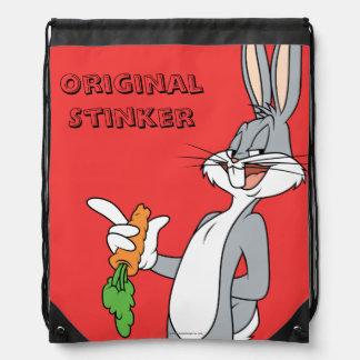 BUGS BUNNY™ With Carrot Drawstring Bag