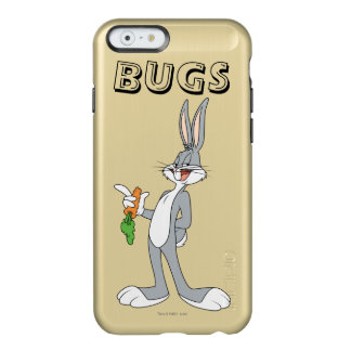 BUGS BUNNY™ With Carrot Incipio Feather Shine iPhone 6 Case