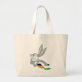 BUGS BUNNY™ with Carrot Large Tote Bag