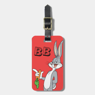 BUGS BUNNY™ With Carrot Luggage Tag