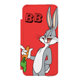 BUGS BUNNY™ With Carrot Wallet Case For iPhone SE/5/5s