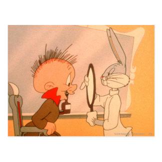 Bugs Bunny y Elmer Fudd 2 Postal