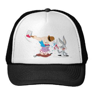 Bugs Bunny y Elmer Fudd Gorras