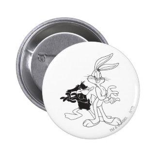 Bugs Bunny y pato de Daffy Pin