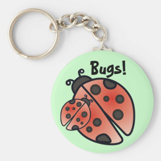 BUGS by SHARON SHARPE Keychain