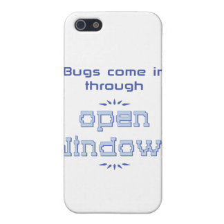 Bugs come in through open windows iPhone SE/5/5s cover