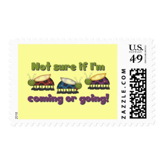 Bugs Coming and Going Tshirts and Gifts Postage