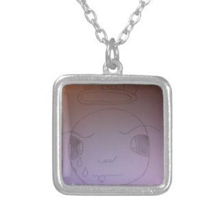 Bugs Feelings Square Pendant Necklace