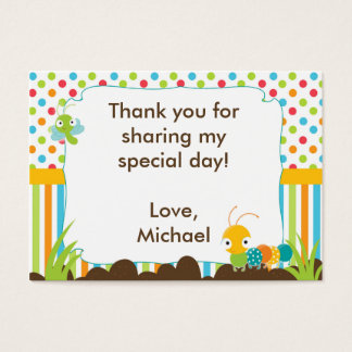 Bugs Gift Favor Tag Label