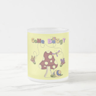 Bugs Gone Buggy Tshirts and Gifts Frosted Glass Coffee Mug