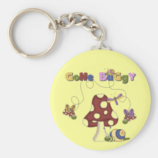 Bugs Gone Buggy Tshirts and Gifts Keychain