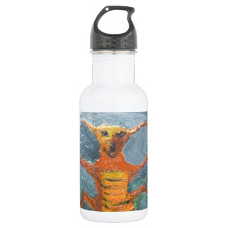 Bugs in Chorus (odd surrealism painting) 18oz Water Bottle