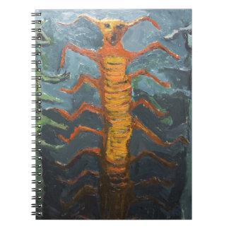 Bugs in Chorus (odd surrealism painting) Notebook