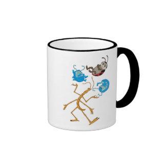 Bug's Life Circus Troupe Bugs Disney Ringer Coffee Mug