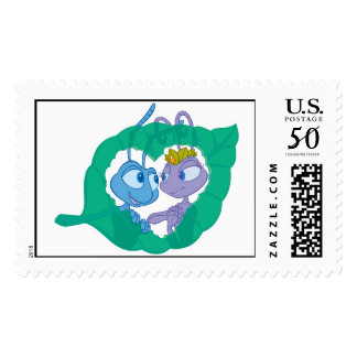 Bug's Life Flik And Princess Atta Disney Postage
