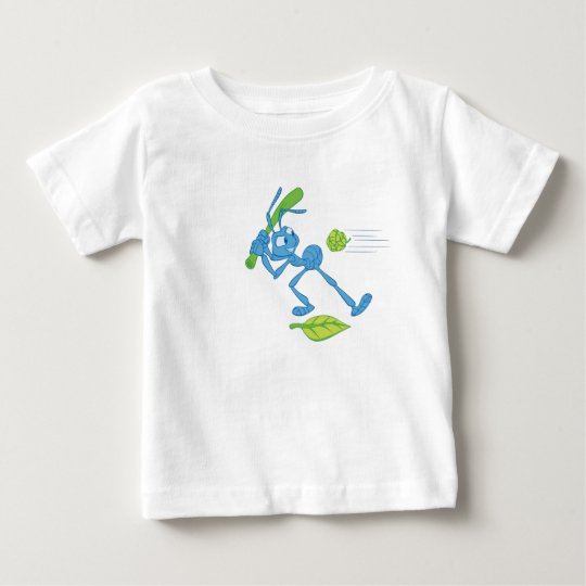 Bug's Life Flik playing baseball swinging bat Baby T-Shirt