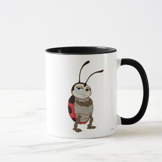 Bug's Life Francis male ladybug arms folded angry Mug