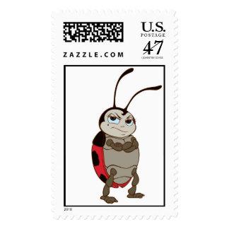Bug's Life Francis male ladybug arms folded angry Postage Stamp