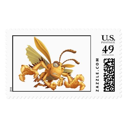 Bug's Life Hopper evil grasshopper flying grabbing Postage