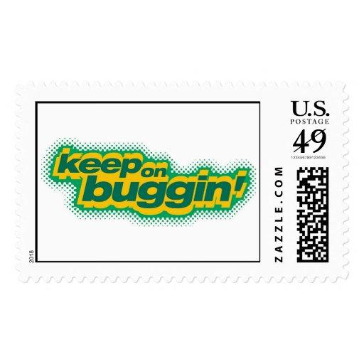 "Bug's Life ""Keep on Buggin"" Disney Postage Stamp"