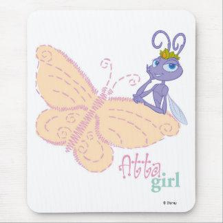 "Bug's Life Princess Atta ""atta girl"" butterfly Mouse Pad"